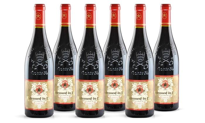 Ch teauneuf du pape wine 6 pack groupon goods - Office de tourisme chateauneuf du pape ...
