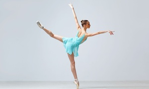 The Ballet Academy: 5 or 10 Group Ballet Lessons for Kids 3–16 or 17 and Older at The Ballet Academy (Up to 69% Off)