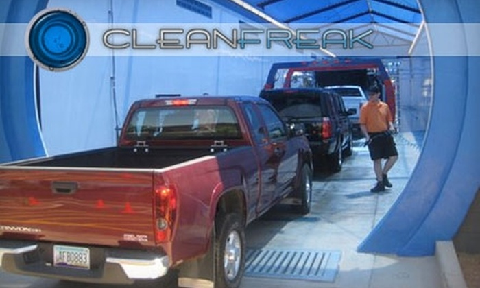 Clean Freak Car Wash - Multiple Locations: $20 for $40 Gift Card at Clean Freak