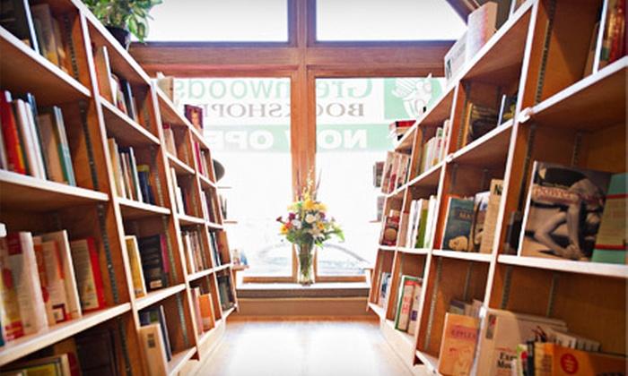 Greenwoods' Bookshoppe - Garneau: $15 for $30 Worth of Books, Calendars, and Gifts at Greenwoods' Bookshoppe