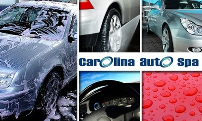 Carolina Auto Spa - Cary: $30 for an Oil Change and Total Car Wash at Carolina Auto Spa in Cary (Up to $64 Value)
