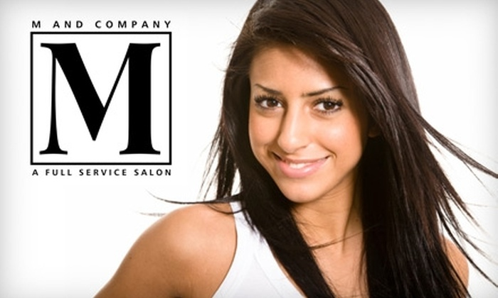 M and Company Salon - Ridglea Hills: $49 for Condition, Haircut, Highlight, and Style at M and Company Salon