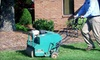 60% Off Lawn Aeration and Fertilization