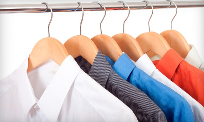 Eco Cleaners and Lakeside Cleaners - Multiple Locations: Eco-Friendly Dry Cleaning or Wedding-Gown Cleaning and Preservation at Eco Cleaners and Lakeside Cleaners