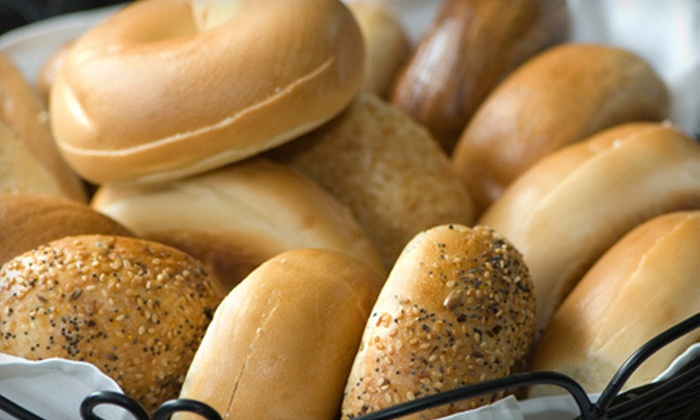 Once Upon a Bagel - Multiple Locations: $10 Worth of Bagels, Sandwiches, and Soup
