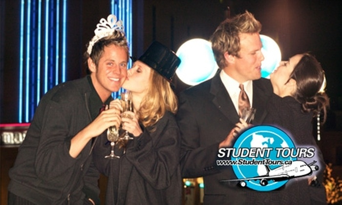 Student Tours - Downtown Halifax: $30 for a New Year's Eve Student Club Crawl (Up to $60 Value)