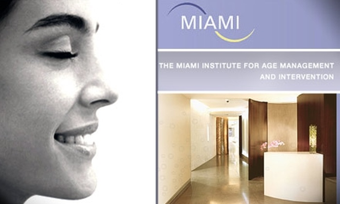 The Miami Institute for Age Management & Intervention - Brickell: $59 for Medical Facial at The Miami Institute for Age Management and Intervention