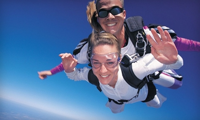 Skydive Jersey - Pittstown: $114 for a Tandem Jump at Skydive Jersey in Pittstown ($229 Value)