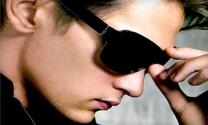 Purba Vision - Multiple Locations: $49 for $200 Worth of Prescription Eyeglasses or Designer Sunglasses at Purba Vision