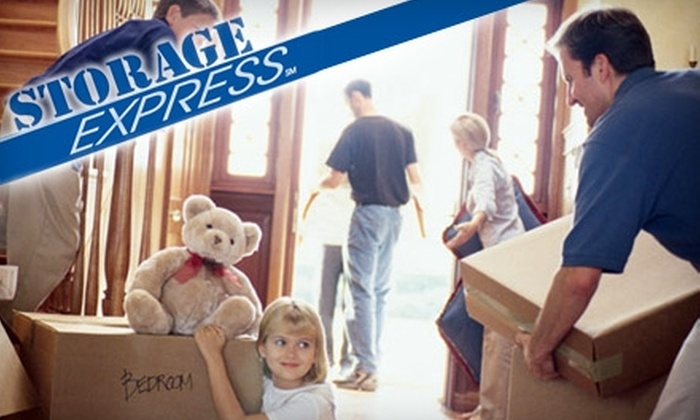 Storage Express - Multiple Locations: $30 for $100 Worth of Rental Space at Storage Express