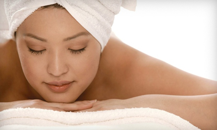 Natural Essential Therapy - Whalley: $149 for a Massage-and-Facial Spa Package at Natural Essential Therapy in Surrey (Up to $338 Value)