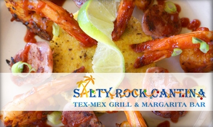 Salty Rock Cantina - Palm Valley: $10 for $20 Worth of Authentic Tex-Mex at Salty Rock Cantina