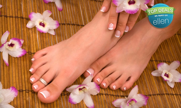 Posh Salon and Spa - Spanish Tril Plaza: Mani-Pedi, Spa Facial, or Mani-Pedi and Facial at Posh Salon and Spa (Up to 58% Off)