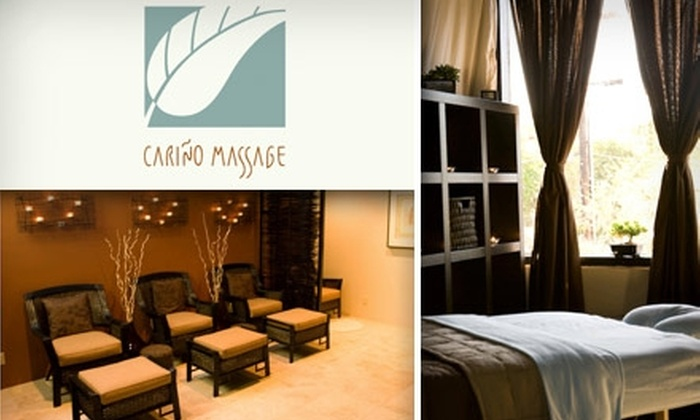 Cariño Massage - Melrose: $45 for a One-Hour Trademark Massage at Cariño Massage