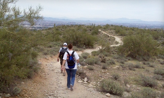 Hike In Phoenix - Phoenix: $49 for Guided Beginner or Moderate Half-Day Hike from Hike In Phoenix (Up to $99 Value)