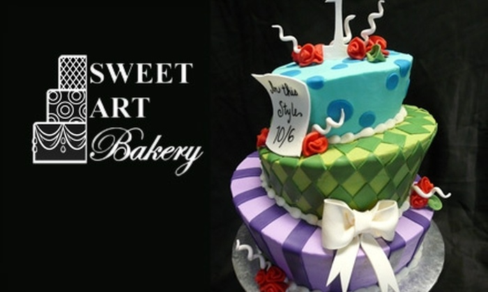 Sweet Art Bakery - Dallas: $20 for $40 Worth of Custom Cakes, Cookies, and More at Sweet Art Bakery in McKinney