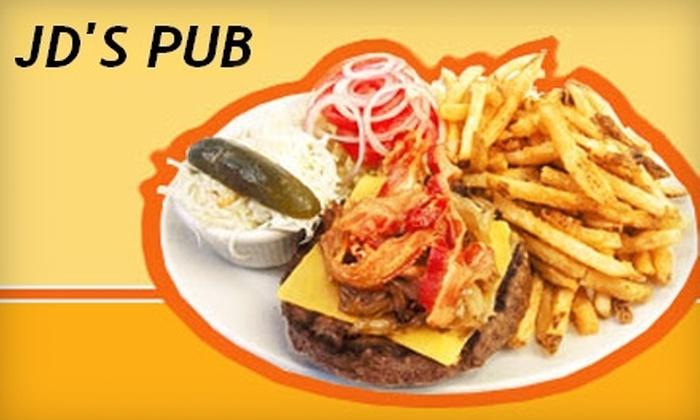 JD's Pub - Pike: $12 for $25 Worth of Sandwiches, Pizzas, Drinks, and More at JD's Pub