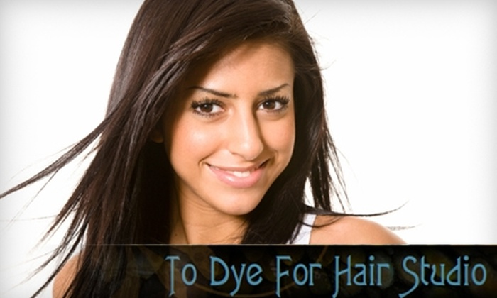 To Dye For Hair Studio - West Bench: $30 for a Haircut and More at To Dye For Hair Studio ($60 Value)