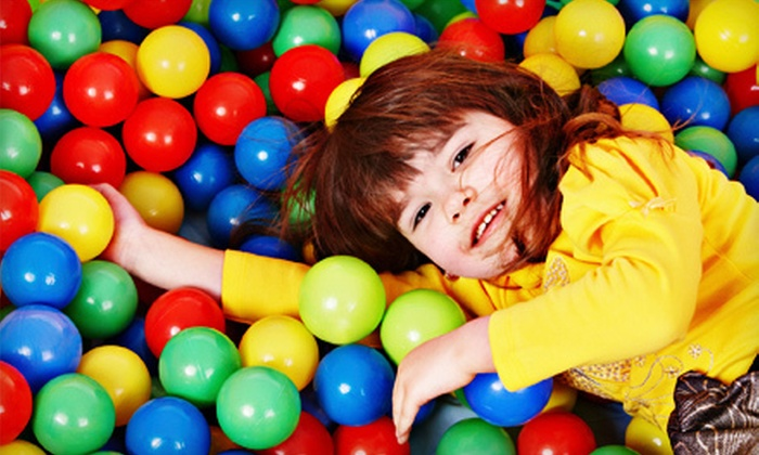 Tumbling Tykes - Latham: 6 or 10 Playground Visits at Tumbling Tykes in Latham (Half Off)