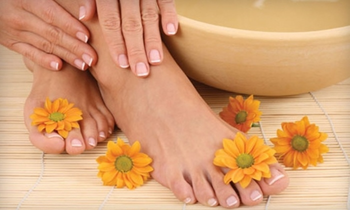 Esthetics by Jeanette - Sacramento: Nail and Tanning Services at Esthetics by Jeanette. Three Options Available.