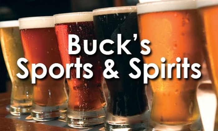 Buck's Sports & Spirits - Northwest Raleigh: $10 for $25 Worth of Pub Fare and Drinks at Buck's Sports and Spirits