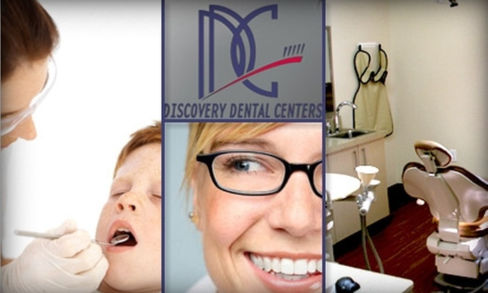 Discovery Dental Centers - Multiple Locations: $59 for an Exam, X-rays, and Teeth Cleaning at Discovery Dental Centers ($303 Value)
