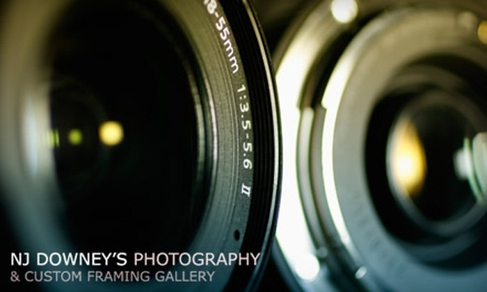 NJ Downey's Photography - Mount Pearl: $25 for a One-Hour Photography Session at NJ Downey's Photography & Custom Framing Gallery ($54.95 Value)