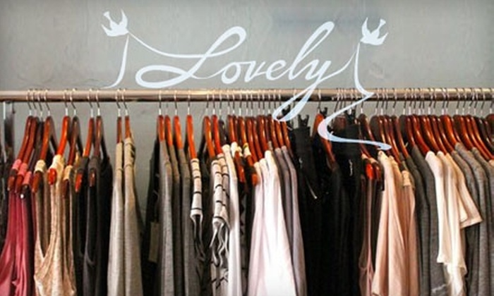 Lovely Boutique - Olde Town Arvada Area: $25 for $50 Worth of Women's Clothing and Accessories at Lovely Boutique in Arvada