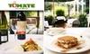 La Tomate Italian Bistro - Dupont Circle: $20 for $40 Worth of Italian Cuisine and Wine at La Tomate Italian Bistro