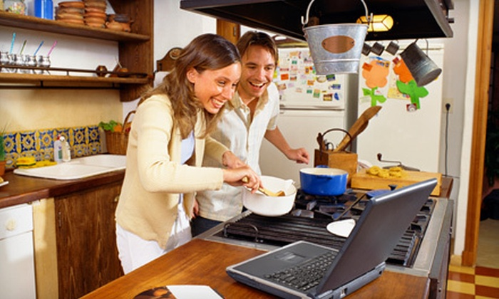 Smart Kitchen: $25 for Six Months of Unlimited Online Cooking Classes from Smart Kitchen ($59.94 Value)