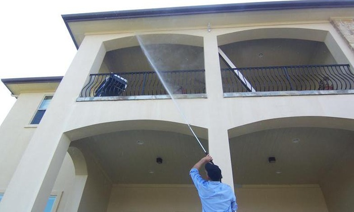 Ward Group Property Services - North Burnet: Pressure Washing from Ward Group Property Services (60% Off)
