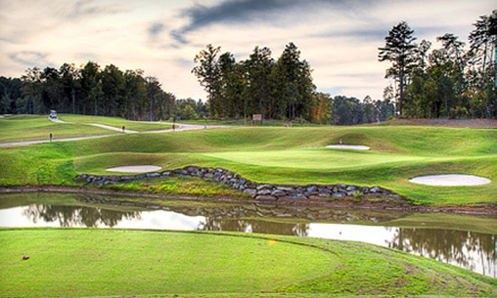 Red Bridge Golf & Country Club - Locust: 5- or 10-Round Golf Package for One or Two at Red Bridge Golf & Country Club in Locust (Up to 83% Off)