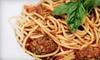Via Sicilia Ristorante Italiano - Vista: Italian Cuisine for Dinner or Lunch at Via Sicilia Ristorante Italiano in Vista (Half Off)