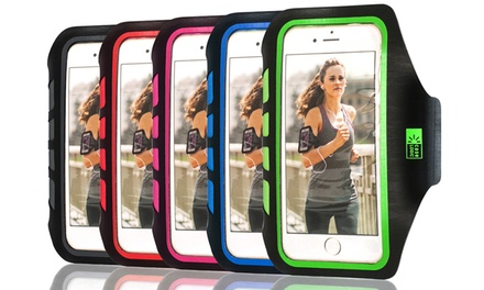Case Logic Running Armband for Apple iPhone 6 and Samsung Galaxy S4/S5, or iPhone 6 Plus and Samsung Galaxy Note
