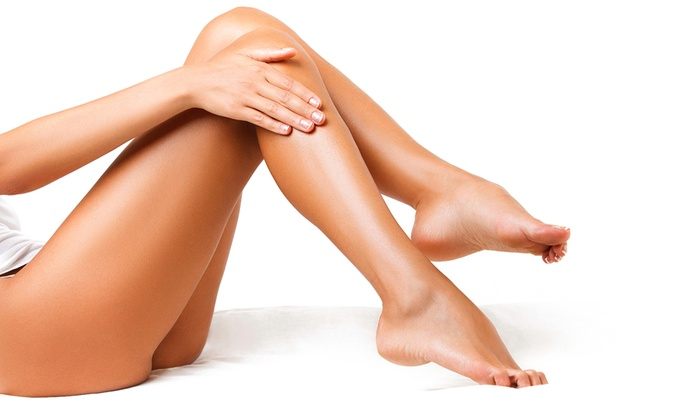 Bikini Line or Underarm Wax, or Both with an Optional Half-Arm, Half-Leg or Full-Arm and Full-Leg Wax at Belle Beauty