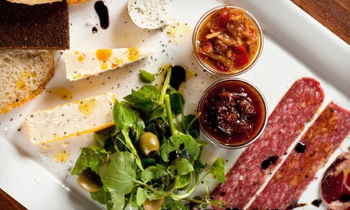The Wine Loft - Charlotte: $20 for $40 Worth of Upscale Wine-Bar Cuisine at The Wine Loft