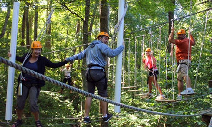 Adventureworks - Kingston Springs: $59 for a High Adventure Challenge for Two at Adventureworks ($130 Value)