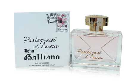 John Galliano Parlez-moi d'Amour Eau de Toilette da 80 ml