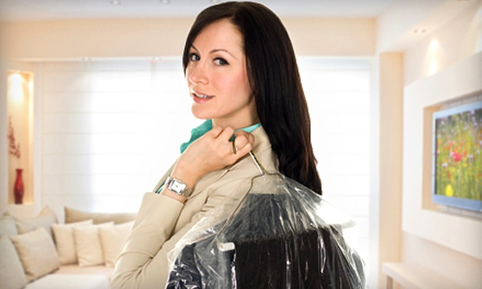 Give-n-Go Dry Clean - Bevo: Dry Cleaning of Comforter or Drapery or $12 for $25 Worth of Dry Cleaning or at Give-n-Go Dry Clean