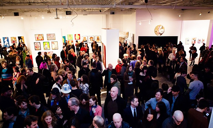 Super Wonder Gallery - Dovercourt - Wallace Emerson: The Super Naughty Show Erotic-Art Exhibition for Two or Four with Drinks at Super Wonder Gallery (44% Off)