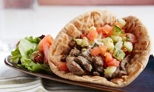 Sababa UF: Israeli Cuisine at Sababa UF (Up to 40% Off)