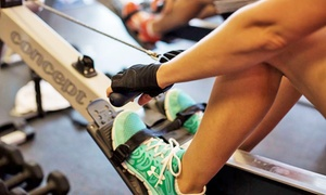 RowZone: 5 or 10 Indoor Rowing-Fitness Sessions at RowZone (Up to 55% Off)