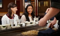 Japanese Chefs Special Meal for Two or Four at Sushi Circle