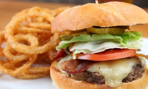 Casual American Fare For Lunch Or Dinner At Flipside Burgers & Bar (up To 50% Off). Three Options Available.