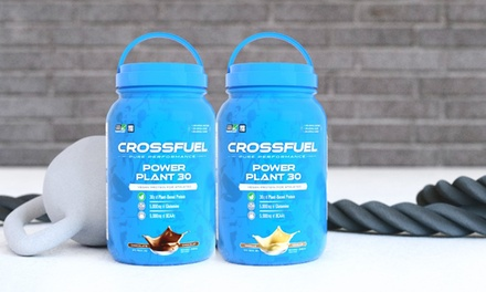 21 Servings of CrossFuel Power Plant 30 Vegan Protein Supplement