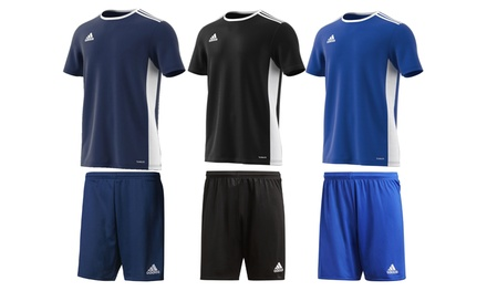 Ensemble Adidas T-shirt et short pour homme style football