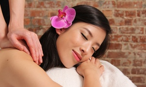 Skin Station: One-Hour Facial with Collagen Eye Mask, One-Hour Deep Tissue Massage, or Both at Skin Station  (Up to 62% Off)