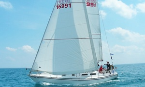 The Salty Dog Sailing Co.: Private BYOB Sailboat Cruise for Up to Six People from The Salty Dog Sailing Co. (Up to 50% Off)