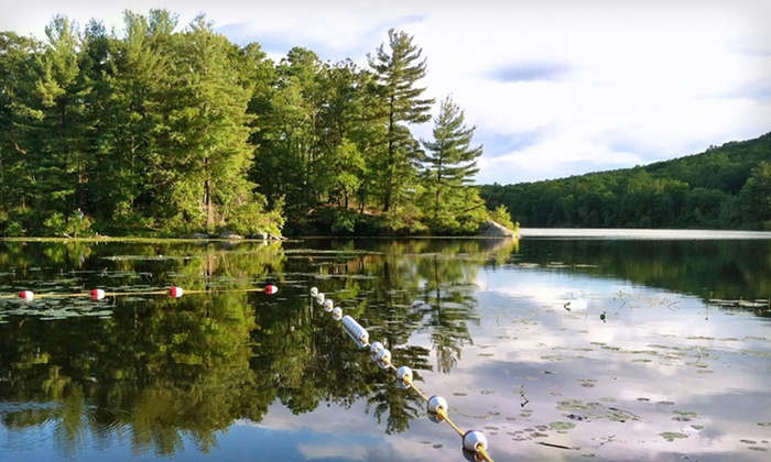 Arrow Park Lake & Lodge - Monroe: One-Night Stay with Breakfast, Beach Access, and Non-Motorized Boat Rental at Arrow Park Lake and Lodge in Monroe, NY