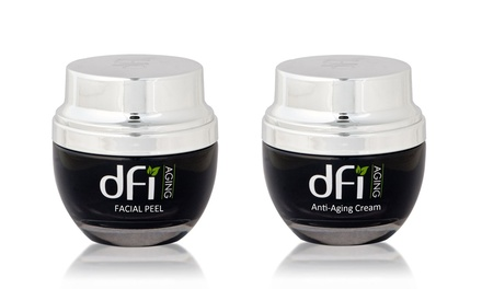 dfi Aging Anti-Aging Cream and Facial Peel Set (2-Piece)